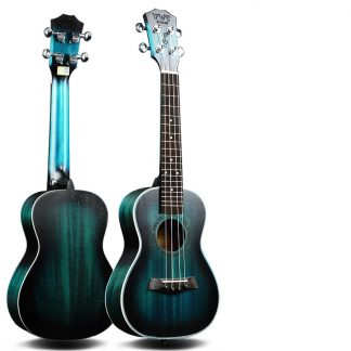 Deep Emerald Color Mahogany Ukulele