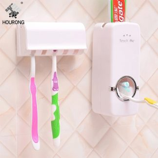 Automatic Toothpaste Dispenser Set