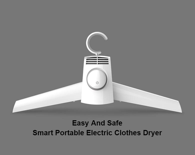 Easy And Safe Smart Portable Electric Clothes Dryer